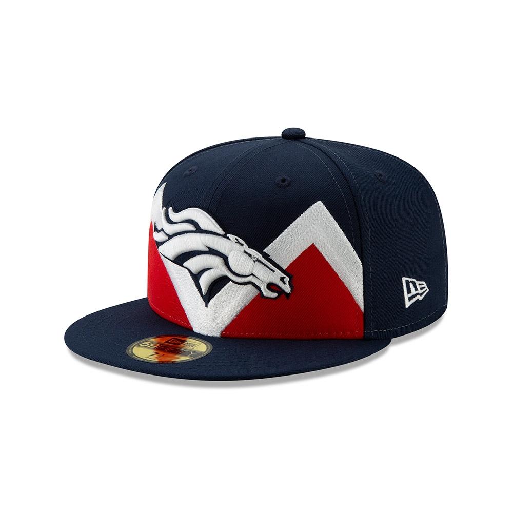 new style 5097d 16924 New Era Denver Broncos 2019 NFL Draft 59FIFTY Fitted Cap Spotlight    TAASS.com Fan Shop