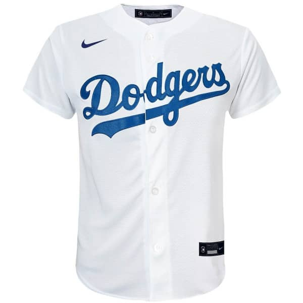 Los Angeles Dodgers Youth MLB Replica Home Trikot Weiß (KINDER)