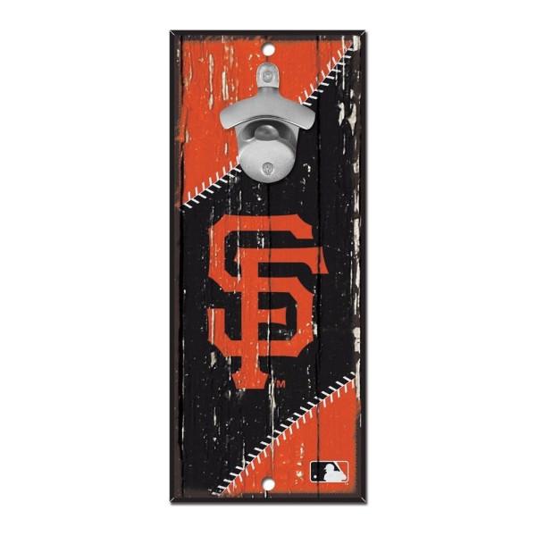 San Francisco Giants MLB Schild mit Flaschenöffner