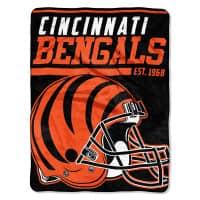 Cincinnati Bengals Super Plush NFL Decke