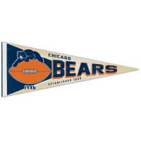 Chicago Bears Premium Throwback NFL Wimpel
