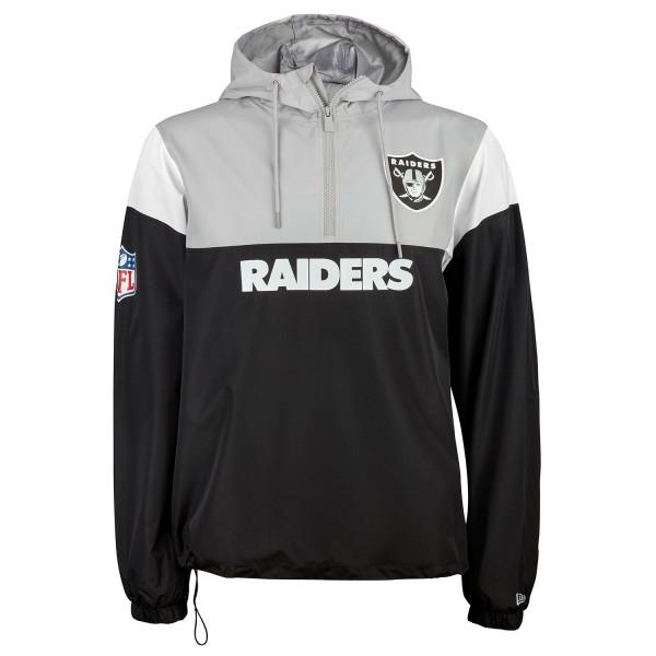 New Era Oakland Raiders Color Block NFL Windbreaker  9749a9498