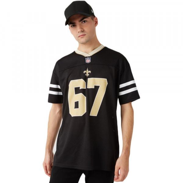 New Orleans Saints #67 Logo New Era Oversized Mesh NFL Fantrikot