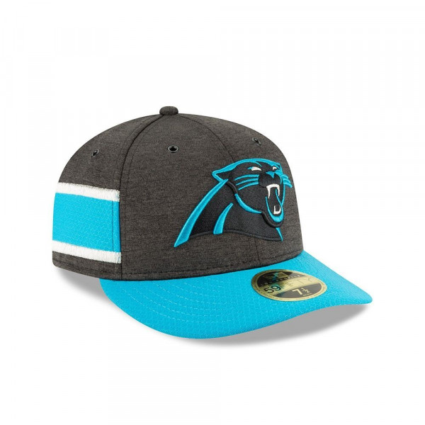Carolina Panthers 2018 NFL Sideline Low Profile 59FIFTY Cap Home