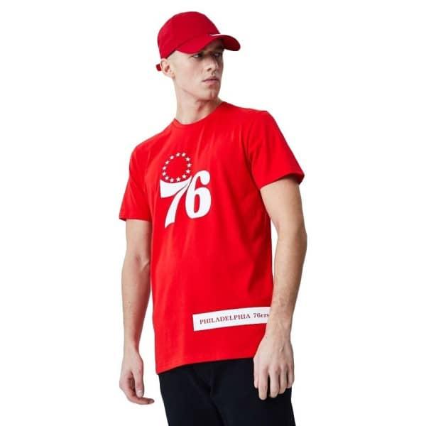 Philadelphia 76ers Block Wordmark NBA T-Shirt