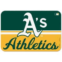 Oakland Athletics Team Logo MLB Fußmatte