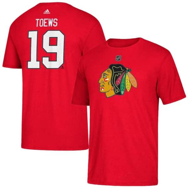 Jonathan Toews #19 Chicago Blackhawks Player NHL T-Shirt