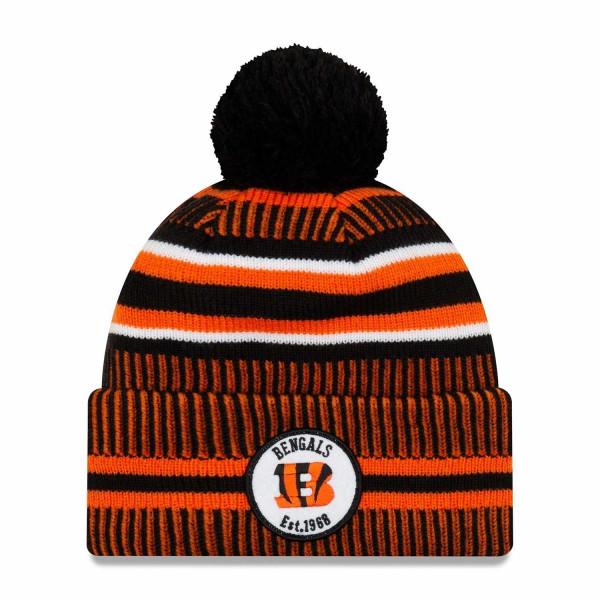 Cincinnati Bengals 2019 NFL Sideline Sport Knit Wintermütze Home