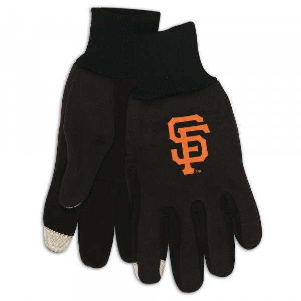 San Francisco Giants Technology Touch-Screen MLB Handschuhe