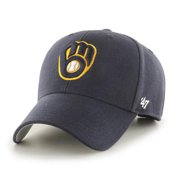 Milwaukee Brewers '47 MVP Adjustable MLB Cap Navy