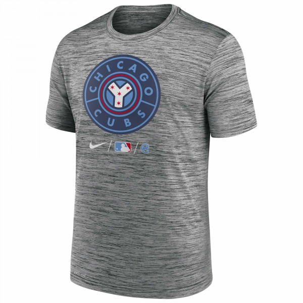 Chicago Cubs 2021 City Connect Nike Authentic Practice MLB T-Shirt