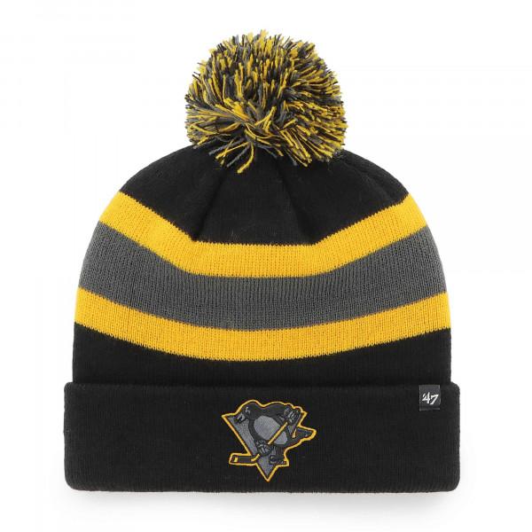 Pittsburgh Penguins Black Tonal '47 Breakaway NHL Wintermütze