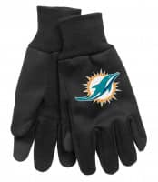 Miami Dolphins Technology Touch-Screen NFL Handschuhe