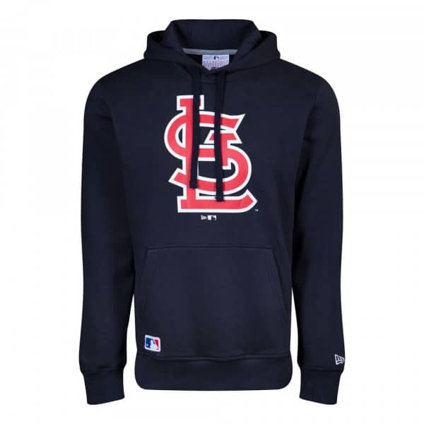 St. Louis Cardinals New Era Logo Hoodie MLB Sweatshirt Navy