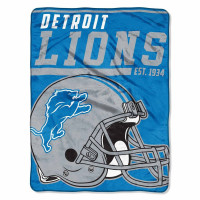Detroit Lions Super Plush NFL Decke