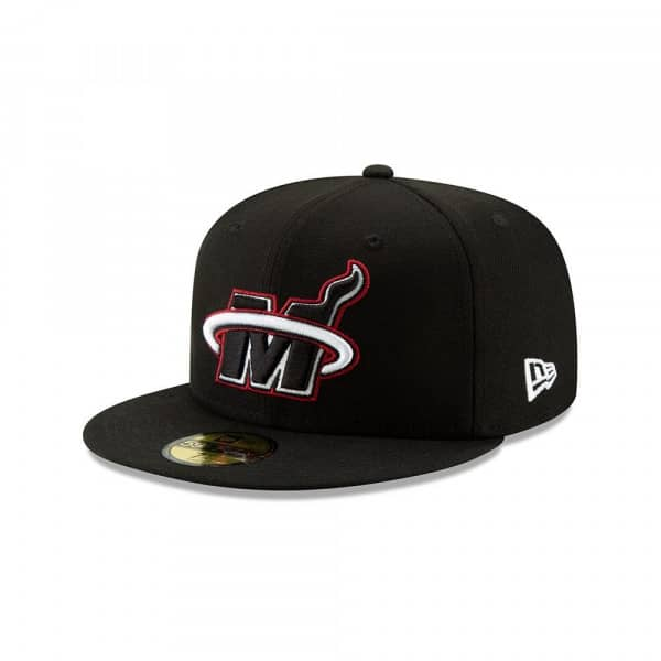 Miami Heat 2019 NBA Back Half 59FIFTY Fitted Cap