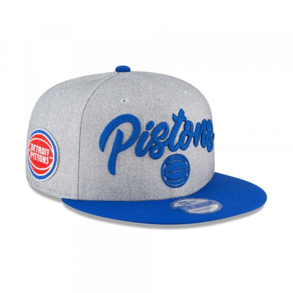 Detroit Pistons Authentic On-Stage 2020 NBA Draft New Era 9FIFTY Snapback Cap