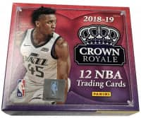 2018/19 Panini Crown Royale Basketball Hobby Box NBA