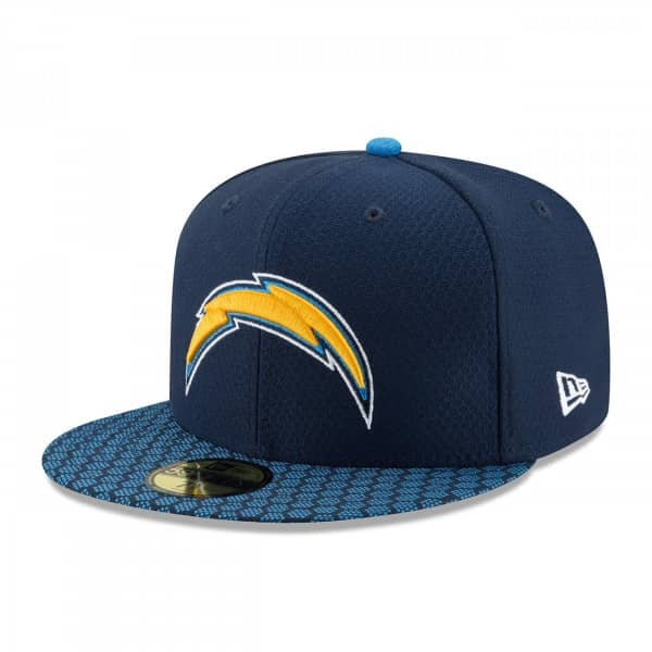 Los Angeles Chargers 2017 Sideline 59FIFTY Fitted NFL Cap