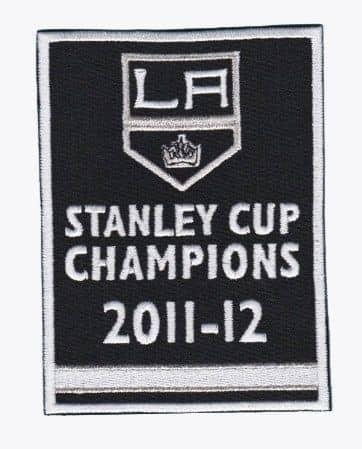 Los Angeles Kings Stanley Cup Champions 2012 Banner Patch / Aufnäher