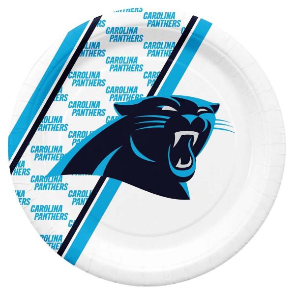 Carolina Panthers Partyware NFL Pappteller Set (20 Stk.)
