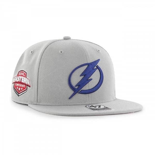 new product 02feb 26372  47 Brand Tampa Bay Lightning Sure Shot Snapback NHL Cap Grey   TAASS.com  Fan Shop