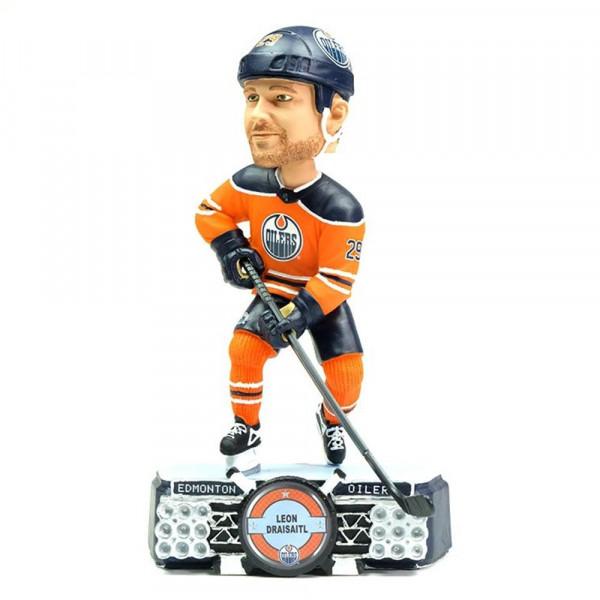 Leon Draisaitl Edmonton Oilers Stadium Lights Bobblehead Figur (20 cm)