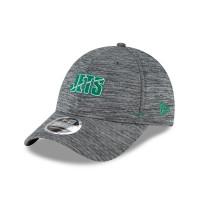 New York Jets 2020 Summer Sideline New Era Stretch-Snap 9FORTY NFL Cap Grau