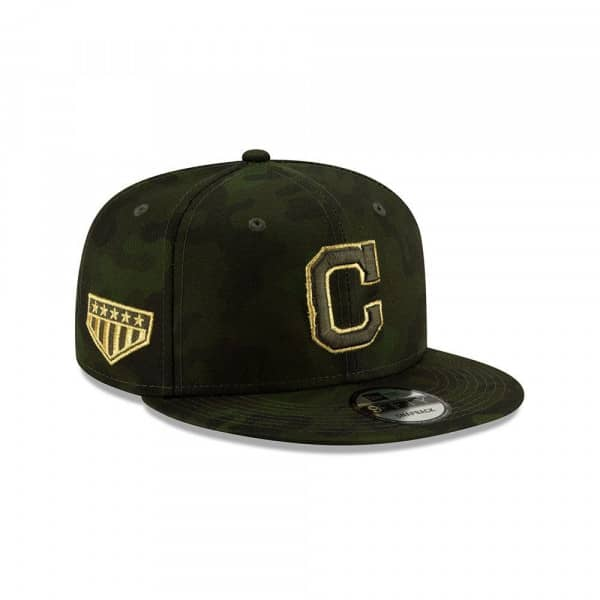 Cleveland Indians 2019 Armed Forces Day 9FIFTY Snapback MLB Cap