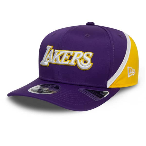 Los Angeles Lakers Hook New Era Stretch-Snap 9FIFTY NBA Cap
