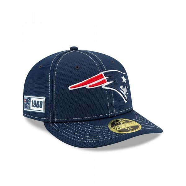 New England Patriots 2019 NFL On-Field Sideline Low Profile 59FIFTY Cap Road
