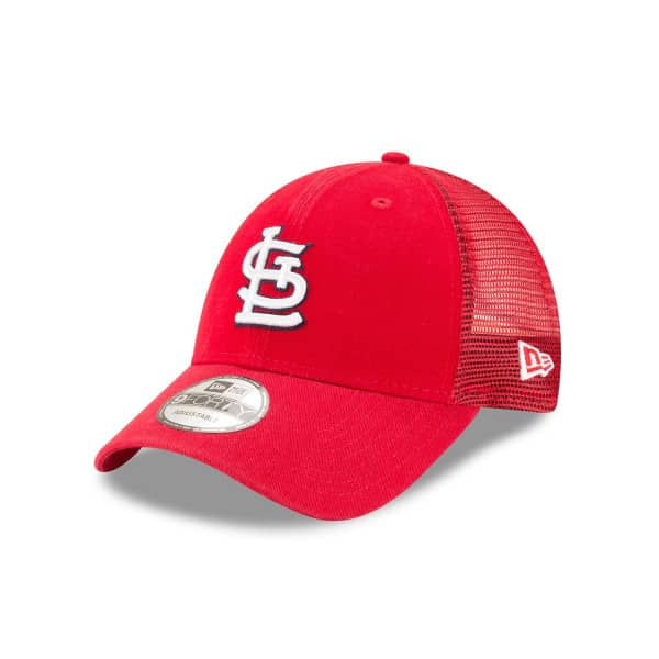 St. Louis Cardinals Basic New Era 9FORTY Trucker MLB Cap