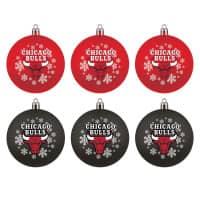Chicago Bulls NBA Weihnachtskugeln Geschenk-Set (6-Teilig)