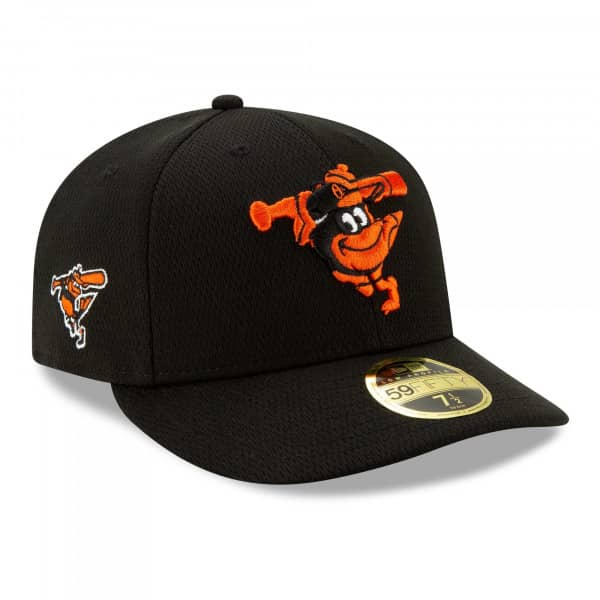 Baltimore Orioles 2021 MLB Authentic Batting Practice Low Profile 59FIFTY Fitted Cap