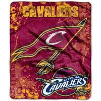 Cleveland Cavaliers Raschel Dropdown NBA Decke