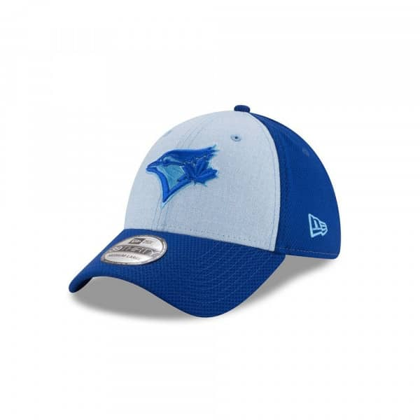 competitive price e5713 4c761 New Era Toronto Blue Jays 2018 Father s Day 39Thirty Stretch Fit MLB Cap    TAASS.com Fan Shop