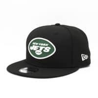 New York Jets Team Logo NFL Snapback Cap Schwarz