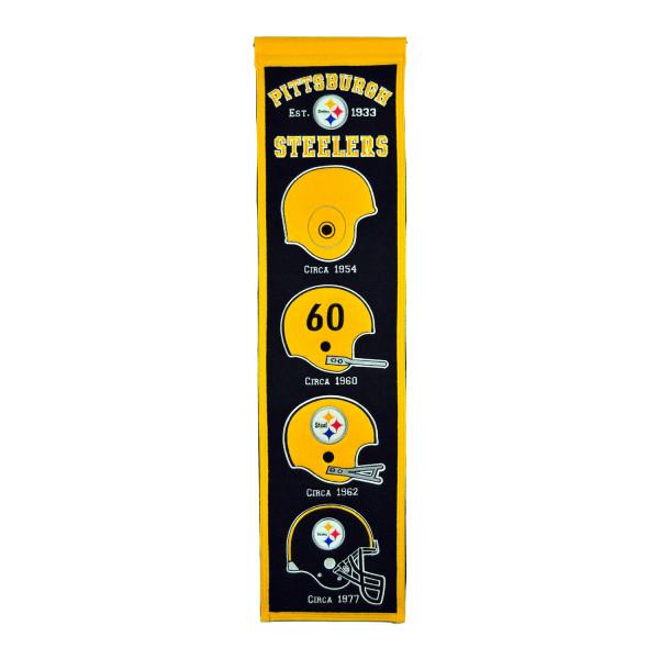 Pittsburgh Steelers NFL Premium Heritage Banner