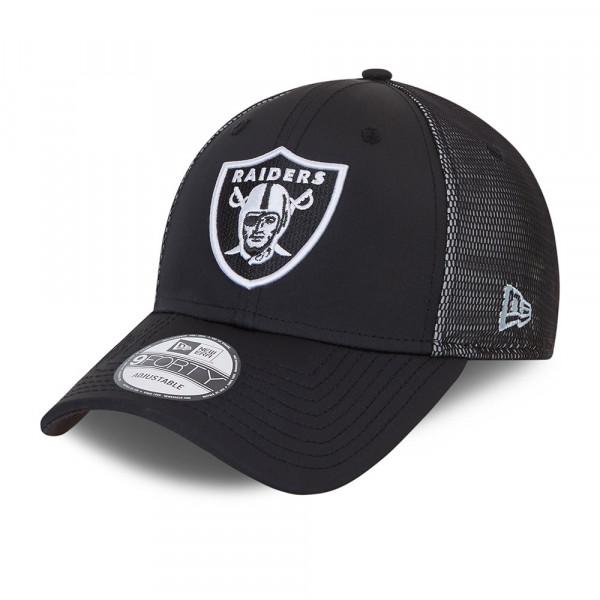 Las Vegas Raiders Mesh Underlay New Era 9FORTY NFL Cap Schwarz