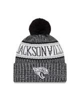 Jacksonville Jaguars Black 2018 Sideline Sport Knit NFL Wintermütze