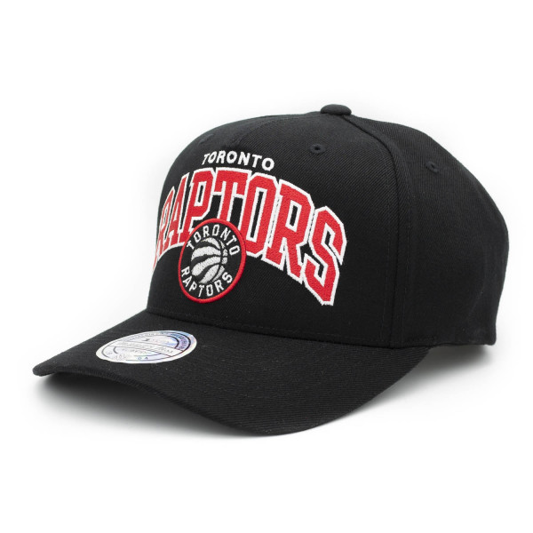 official photos 1e6ff 3decc Mitchell   Ness Toronto Raptors 110 FlexFit Team Arch Snapback NBA Cap    TAASS.com Fan Shop
