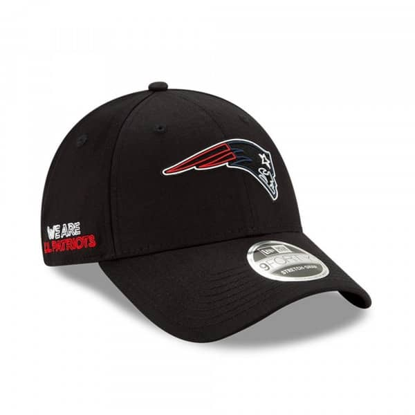 New England Patriots Official 2020 NFL Draft New Era Stretch-Snap 9FORTY Cap