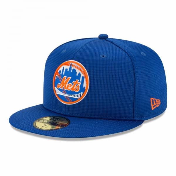 New York Mets 2021 MLB Authentic Clubhouse New Era 59FIFTY Fitted Cap