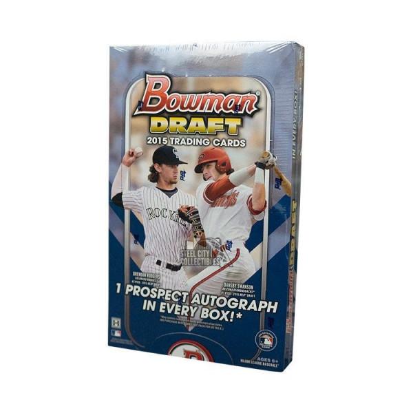 2015 Bowman Draft Picks & Prospects Baseball Hobby Box MLB