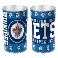 Winnipeg Jets Metall NHL Papierkorb