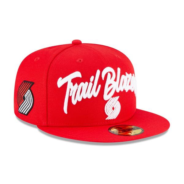 Portland Trail Blazers Alternate Authentic 2020 NBA Draft New Era 59FIFTY Fitted Cap