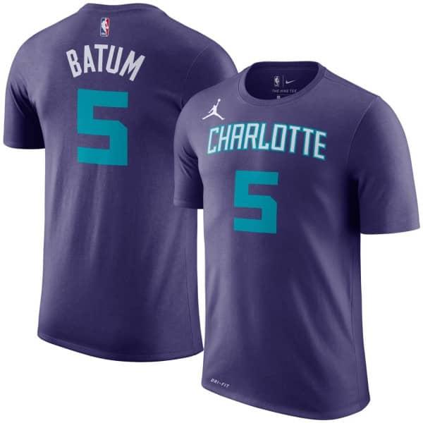 Nicolas Batum #5 Charlotte Hornets Player NBA T-Shirt