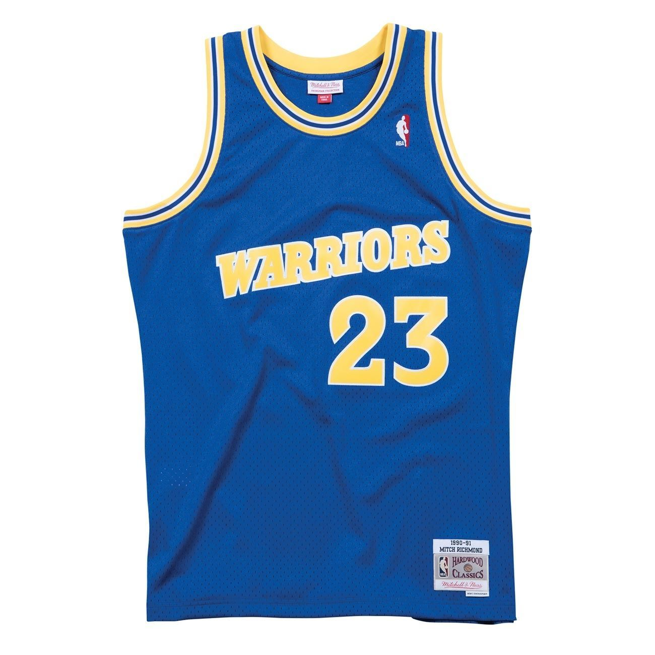 e697dda1b11 Mitchell   Ness Mitch Richmond  23 Golden State Warriors 1990-91 Swingman  NBA Jersey Blue