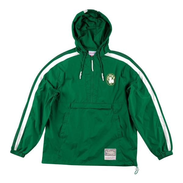 Boston Celtics Packable Nylon Anorak Jacke