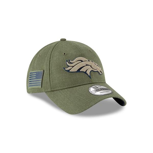 eaae324b5 New Era Denver Broncos 2018 Salute to Service 9TWENTY NFL Cap ...